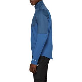 asics Windblock LS Half-Zip Shirt Men mako blue/deep sapphire